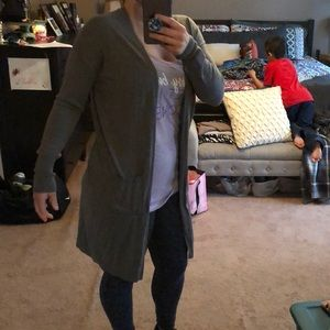 Old Navy Long Open Front Cardigan